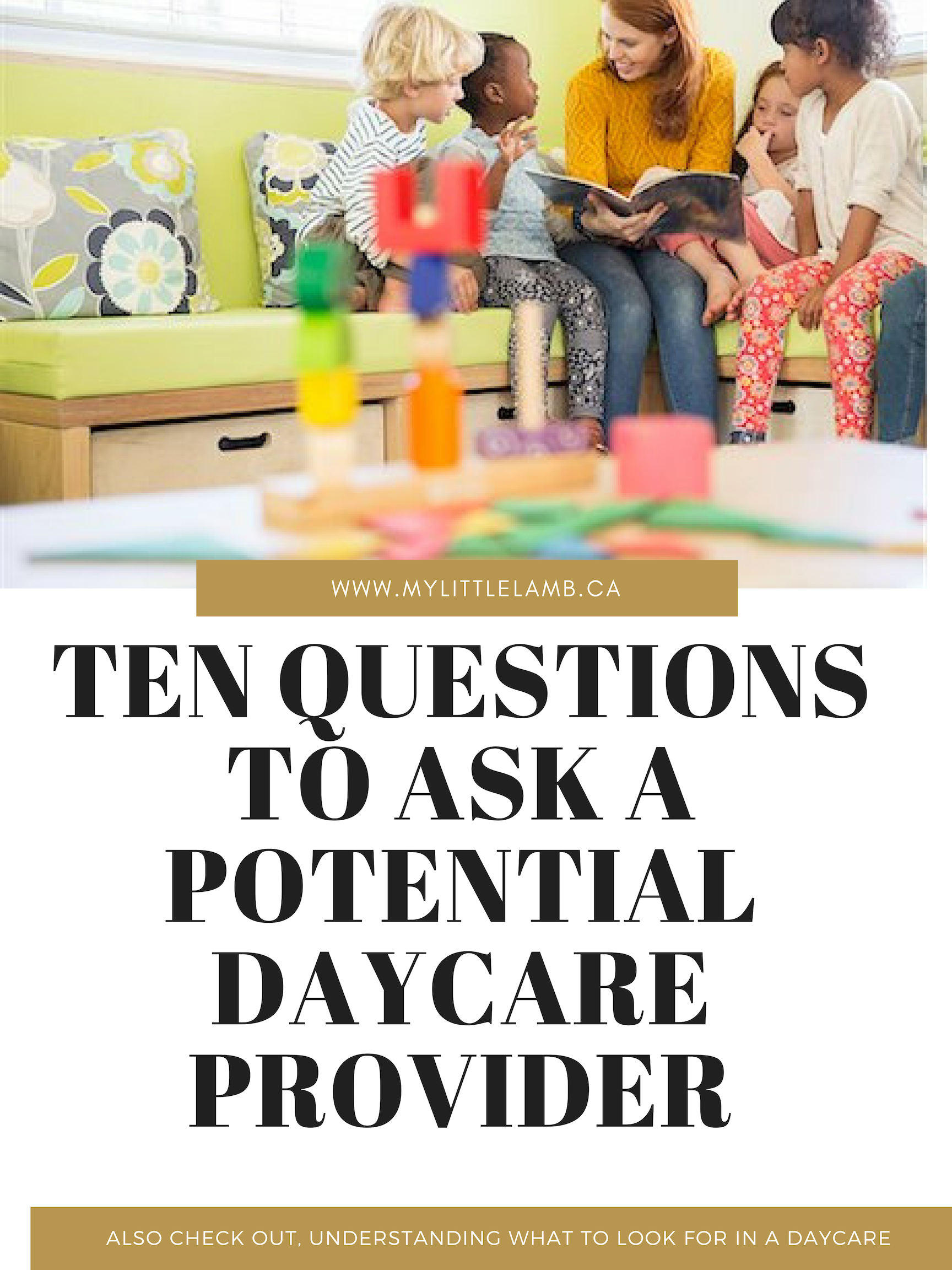 Ten questions to ask a potentional daycare provider picture