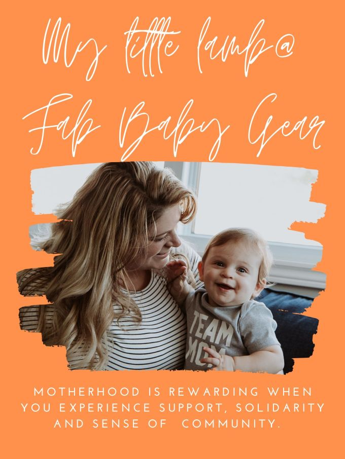 fab baby gear event poster